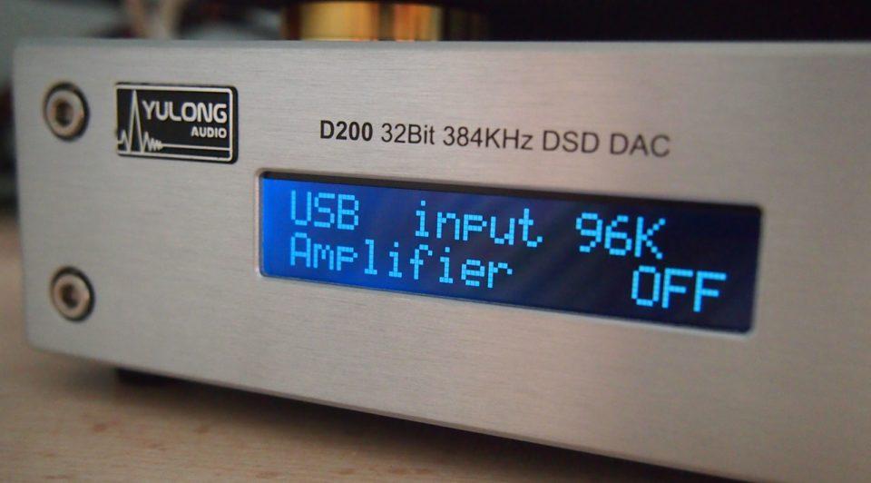 Yulong D200 DSD DAC