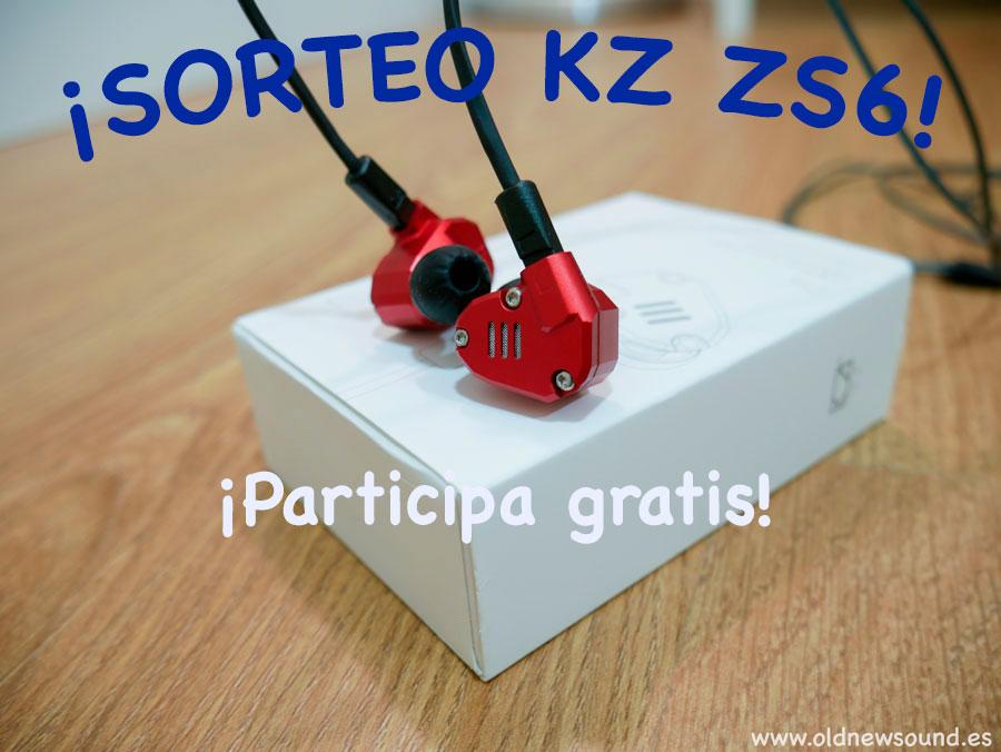 ¡SORTEO DE LOS KZ ZS6!