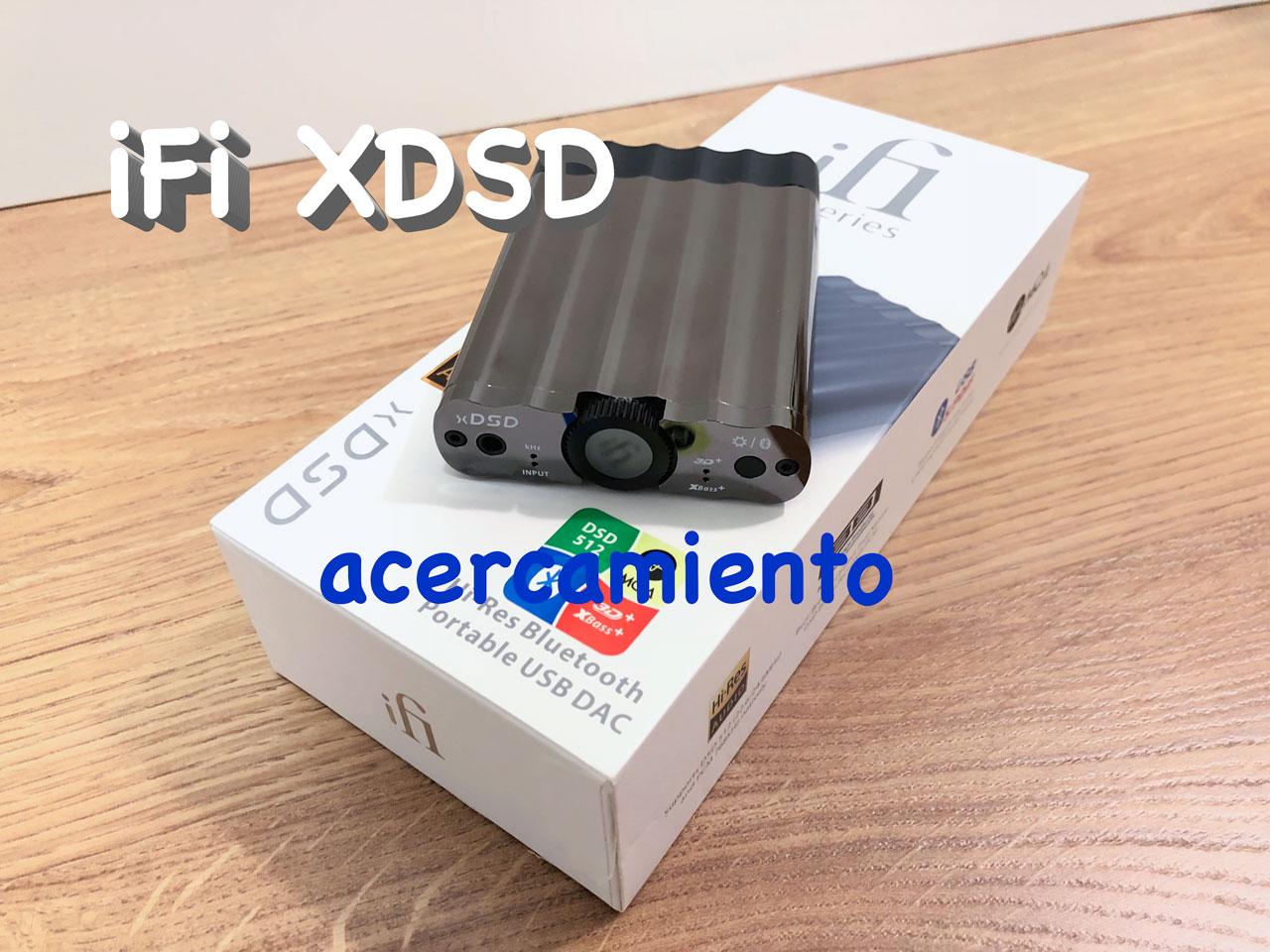 iFi xDSD vídeo | acercamiento